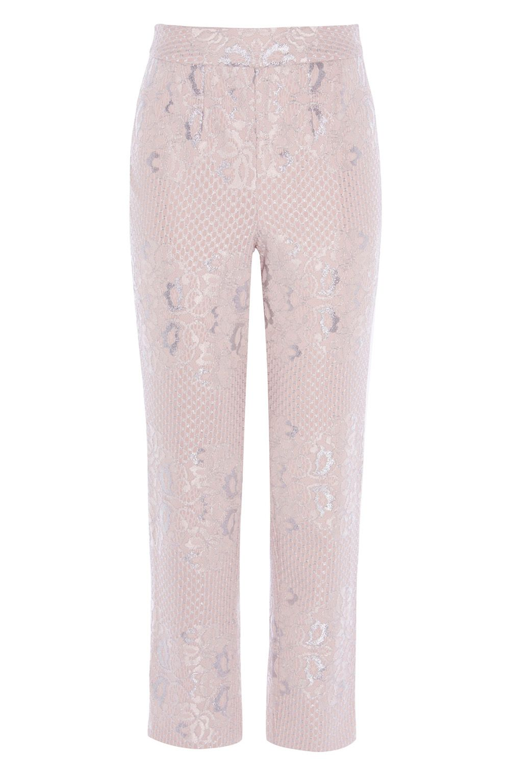 Coast Izzy Lace Trouser, Pink