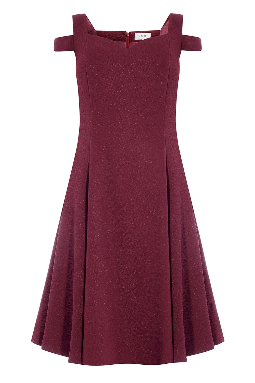 Coast Ava Short Bridesmaids Dress, Maroon