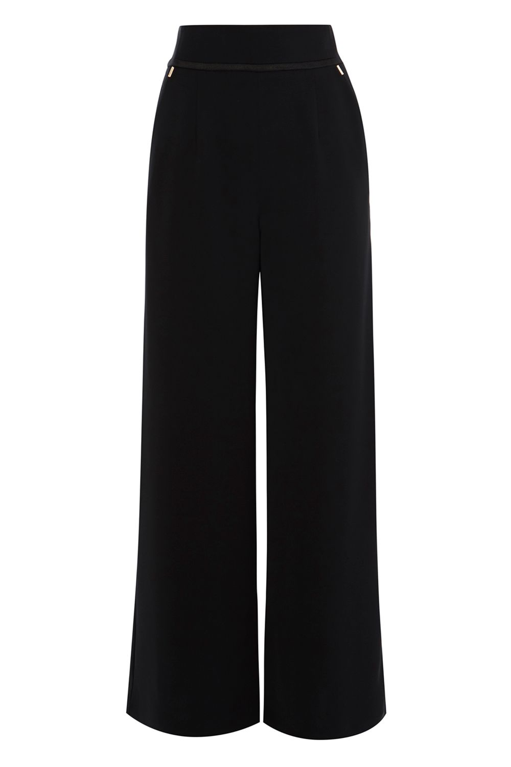Coast Valencia Wideleg Trouser, Black