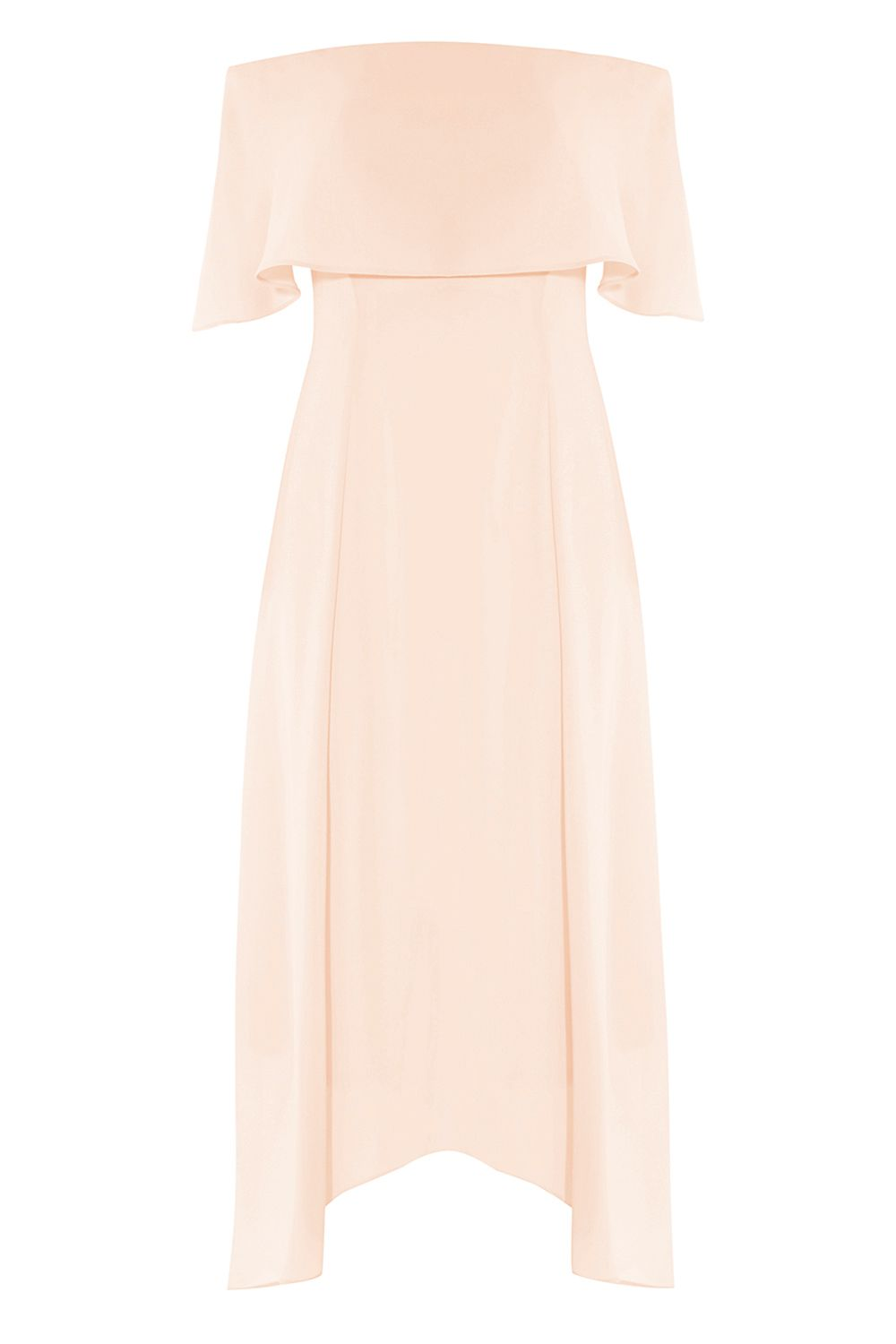 Coast Brooke Midi Bridesmaid Dress, Pink