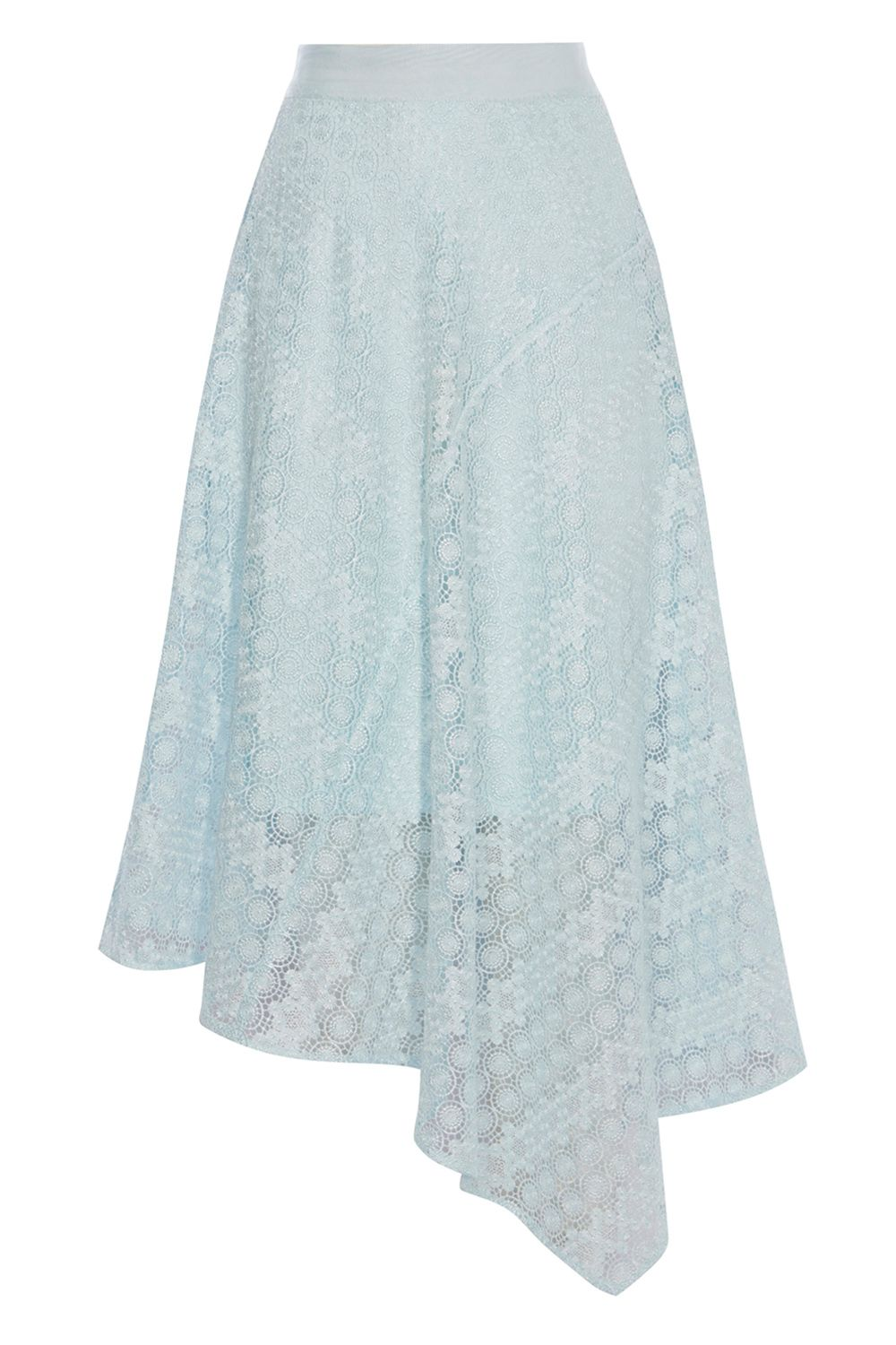Coast Zoe Lace Skirt, Pastel Blue
