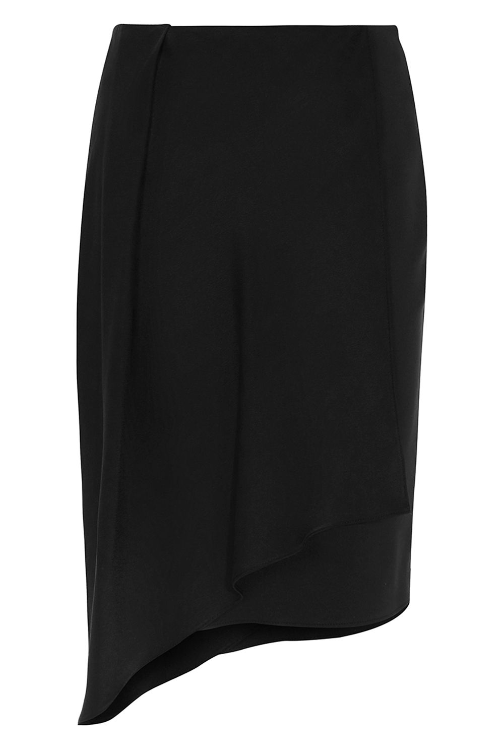 Coast Mindi Overlay Skirt, Black