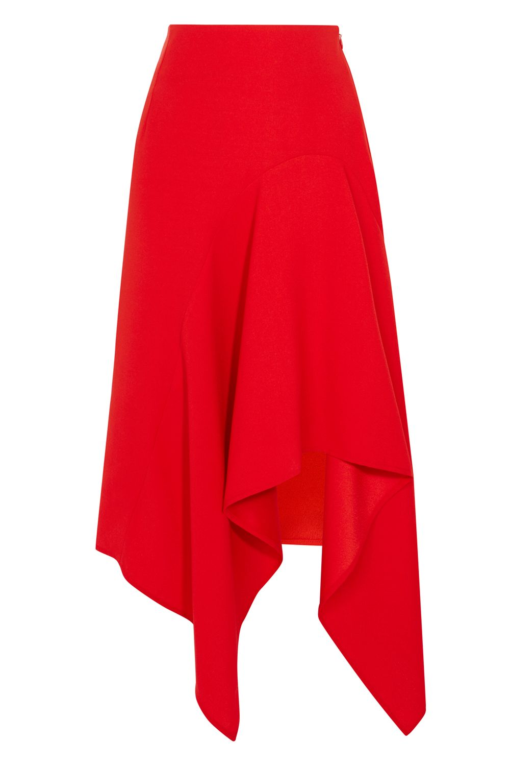 Coast Saira Asymmetric Skirt, Red