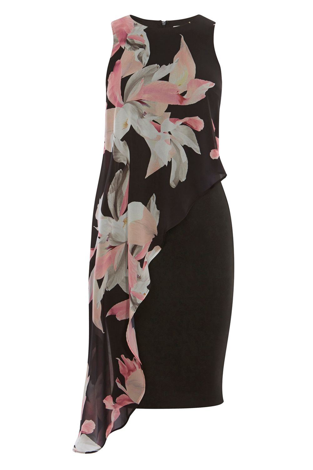 Coast Victorie Print Arossa Dress, Multi-Coloured
