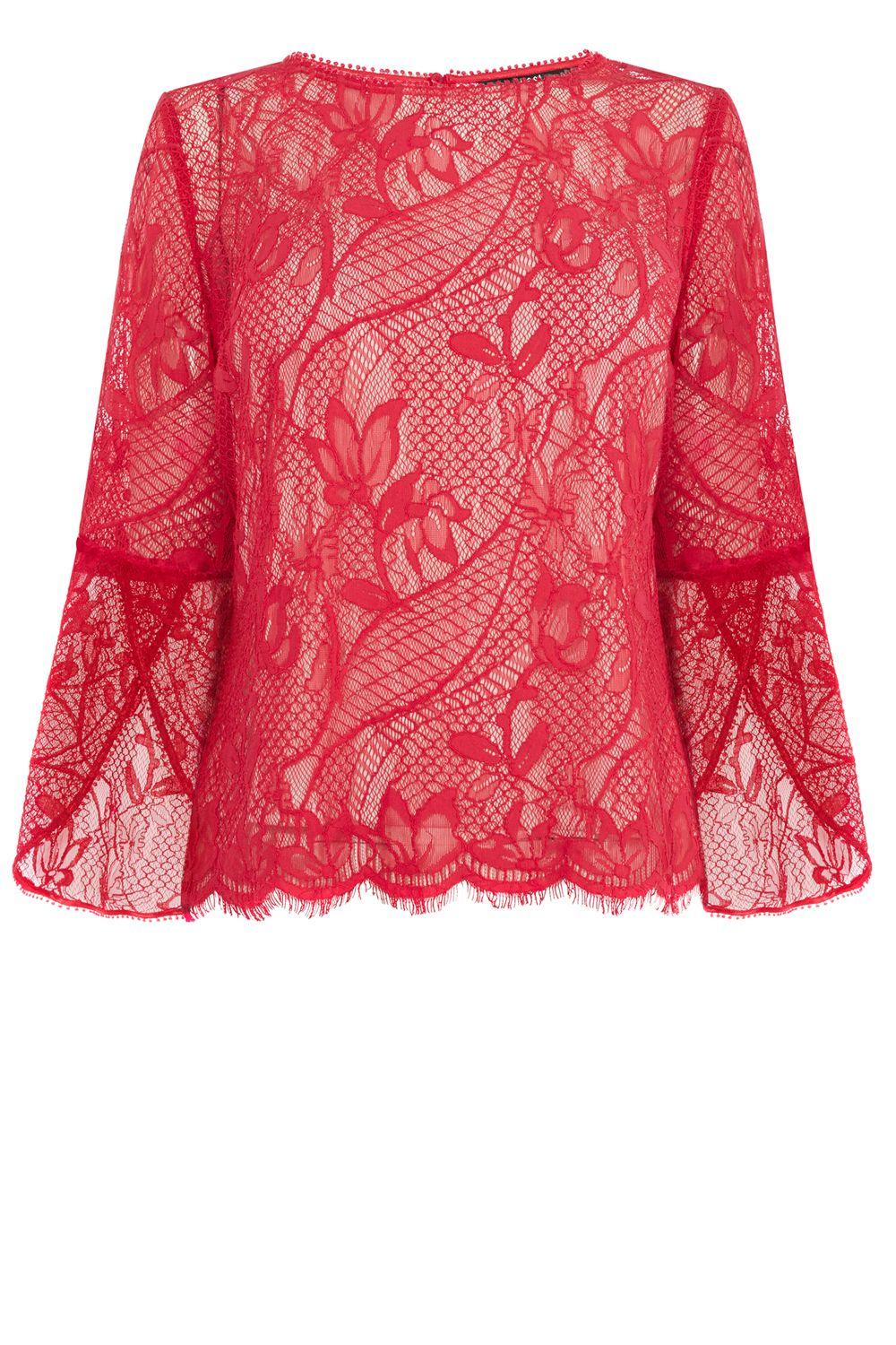Coast Tricia Lace Top, Multi-Coloured