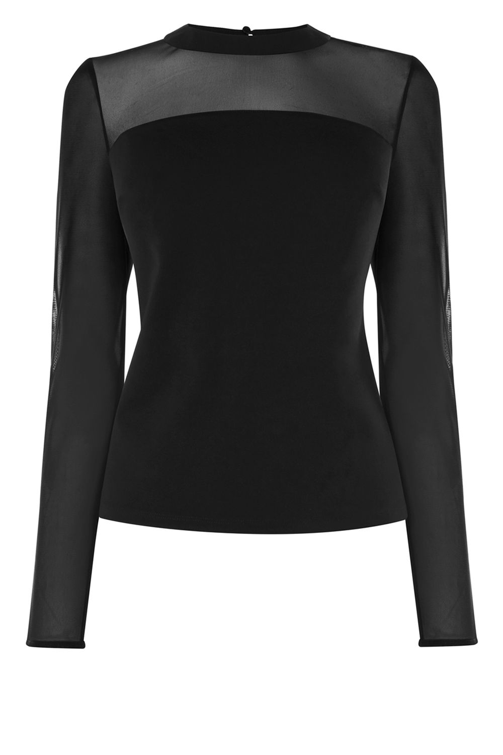 Coast Valetta Mesh Top, Black