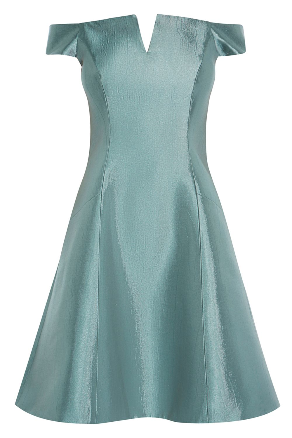 Coast Armelle Green Dress, Green