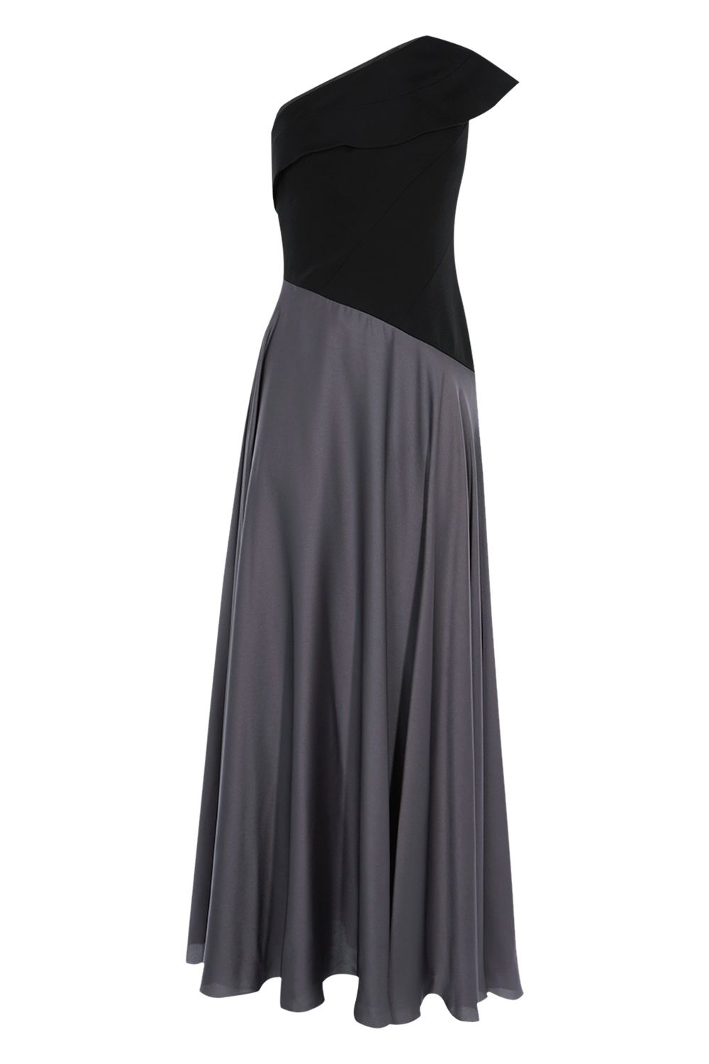 Coast Lettie Soft Satin Maxi Dress, Black