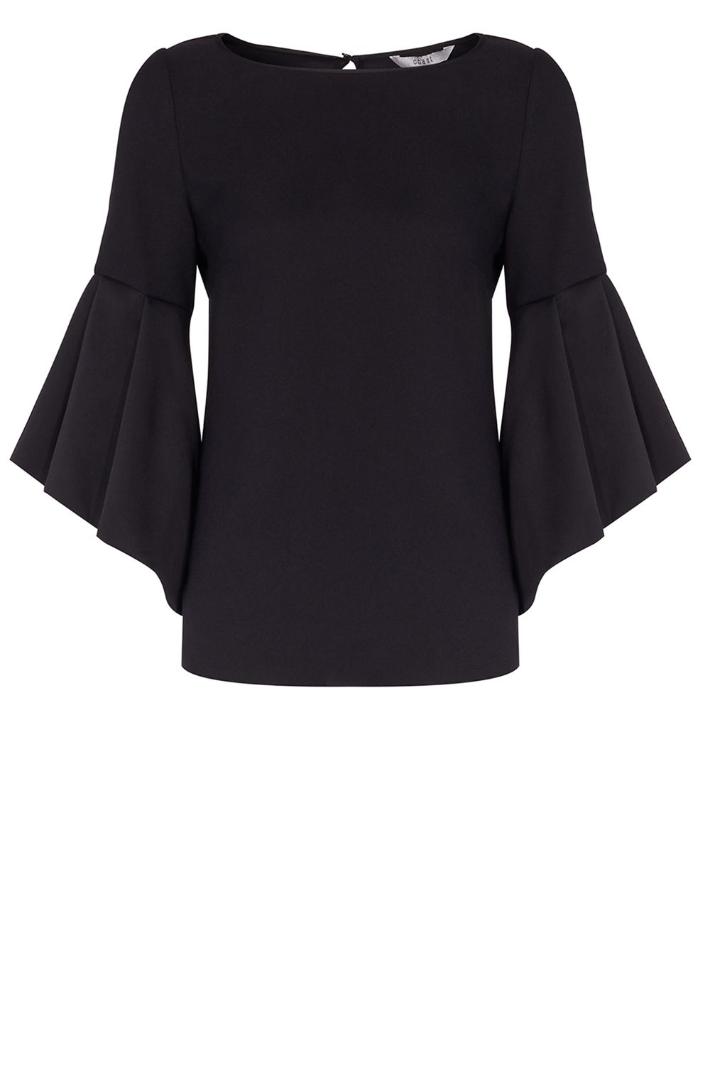 Coast Anais Bell Sleeve Top, Black