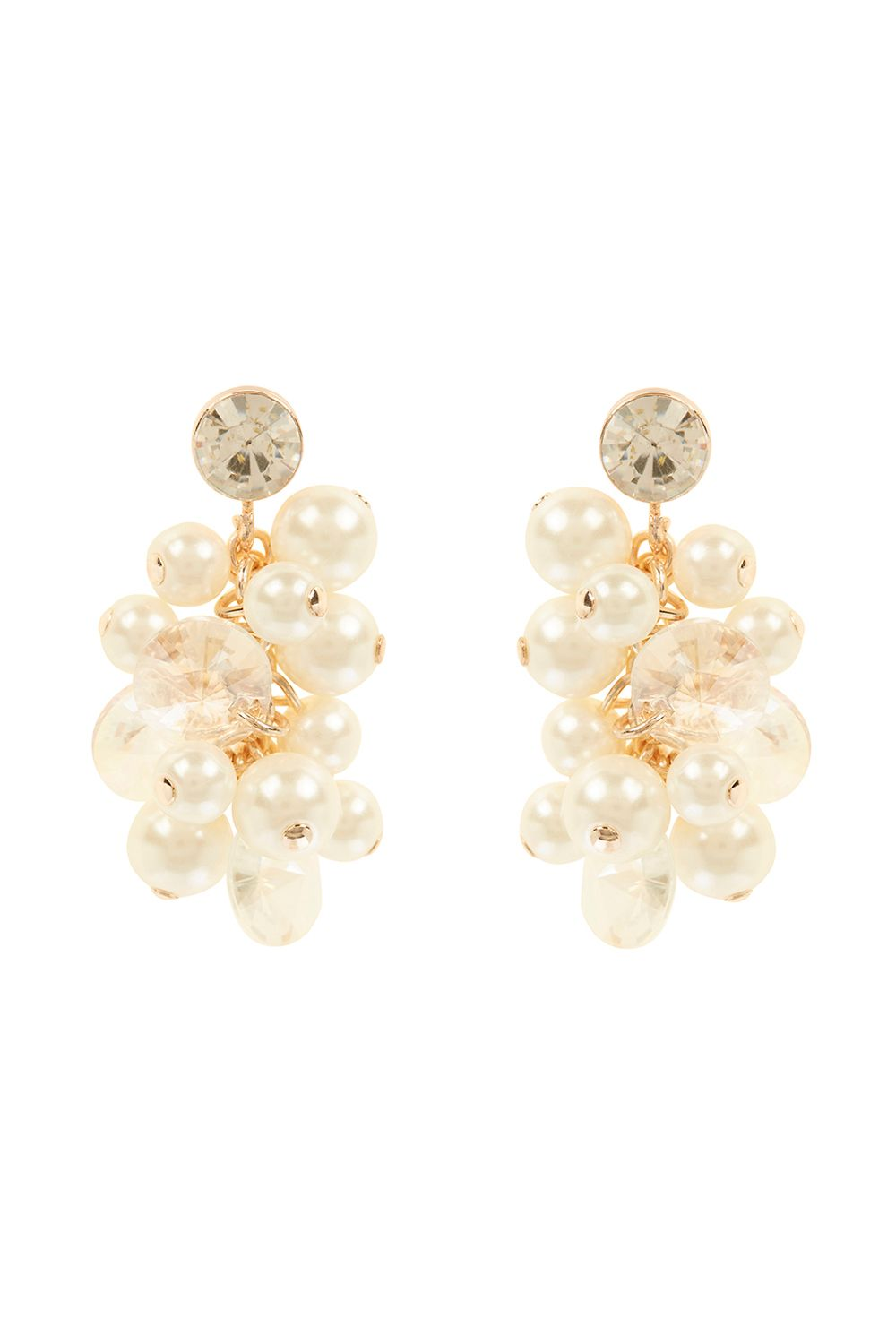 Coast Adara Pearl Earrings, Multi-Coloured