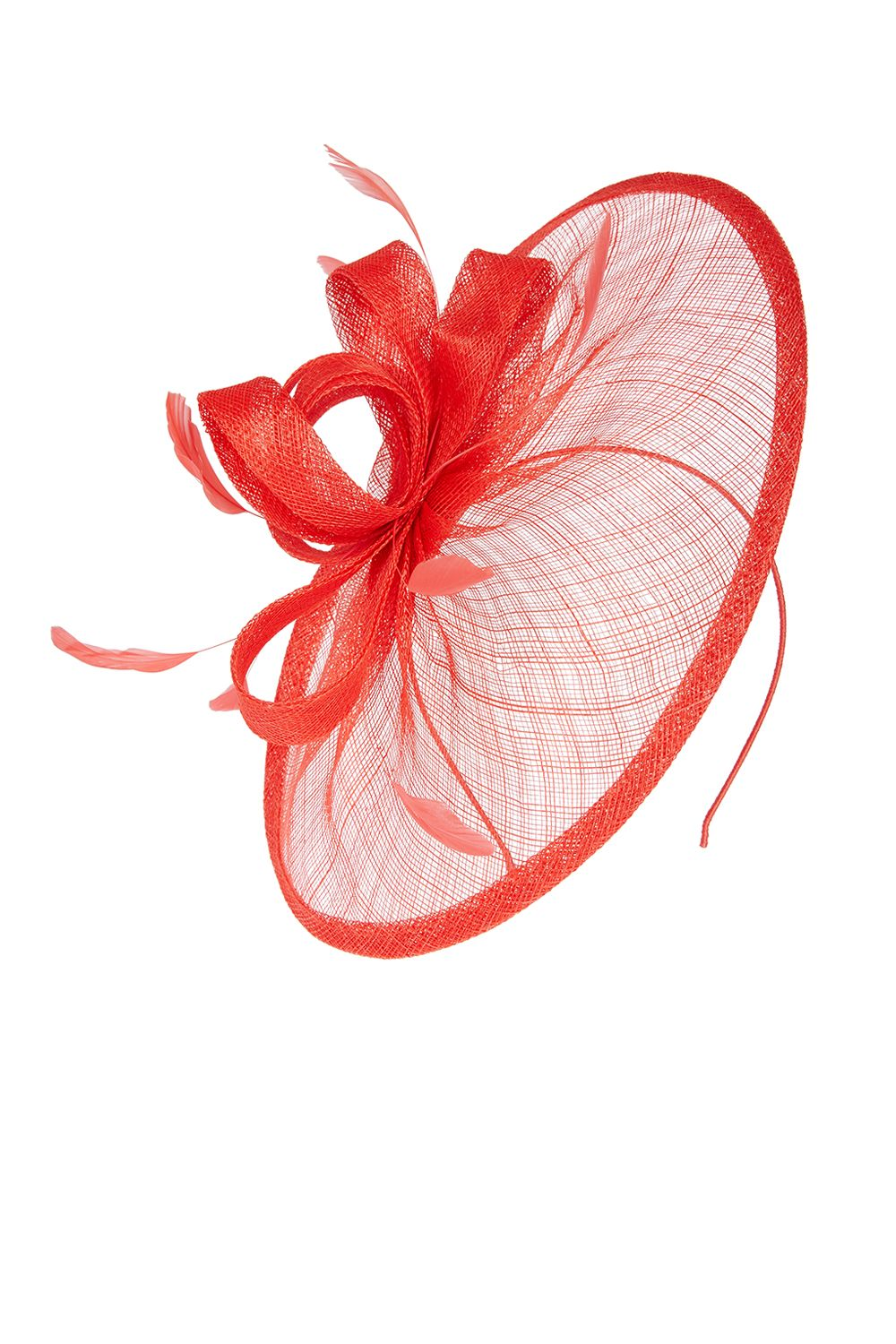 Coast Amedee Fascinator, Red