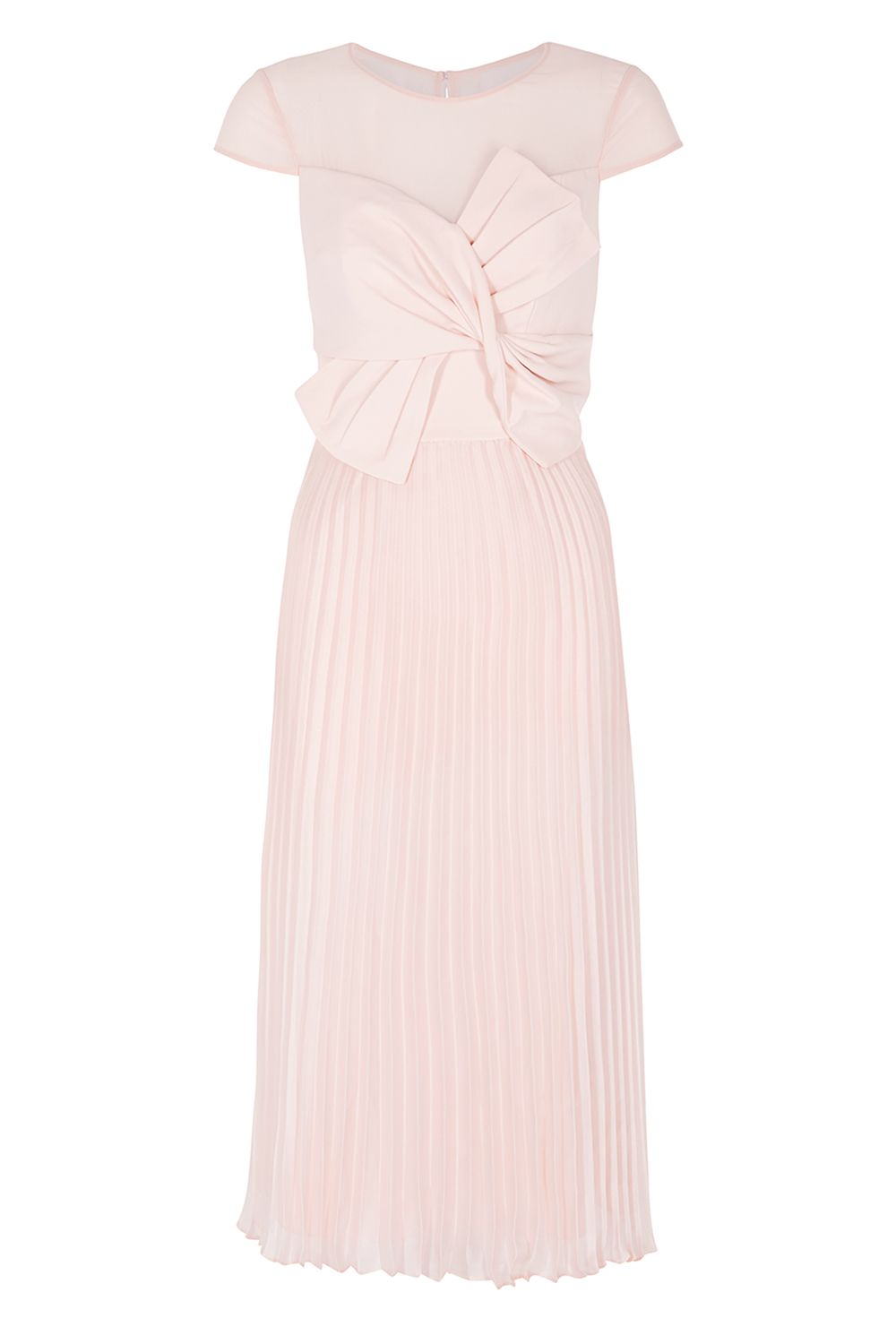 Coast Bonnie Bow Dress, Pink