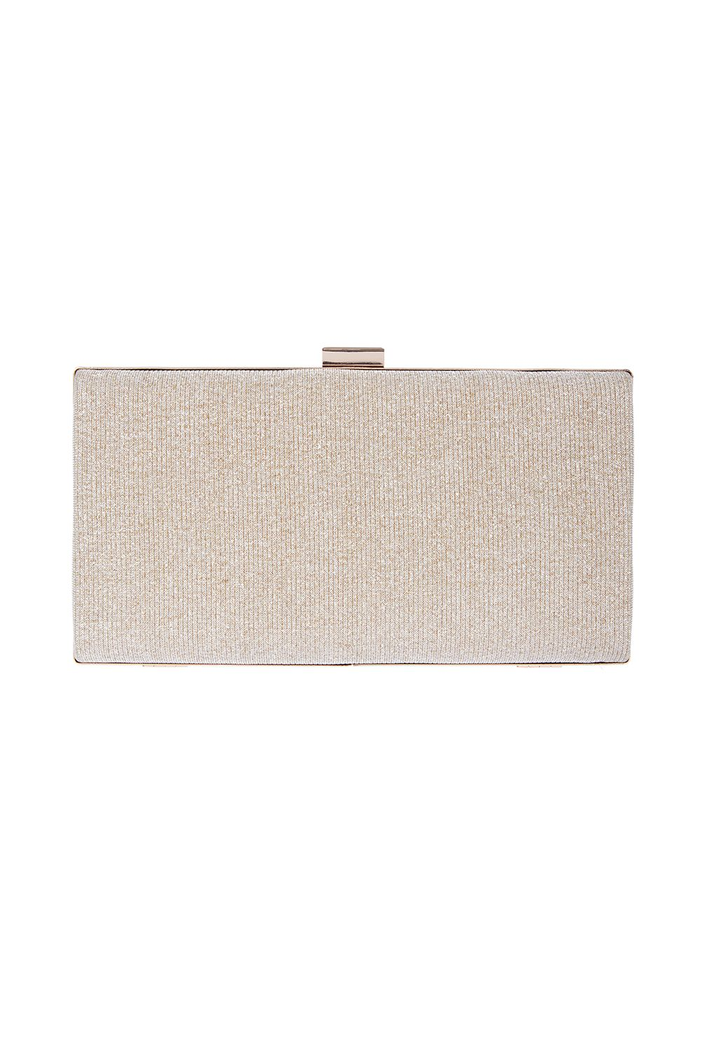 Coast Bethy Box Bag, Gold Silverlic