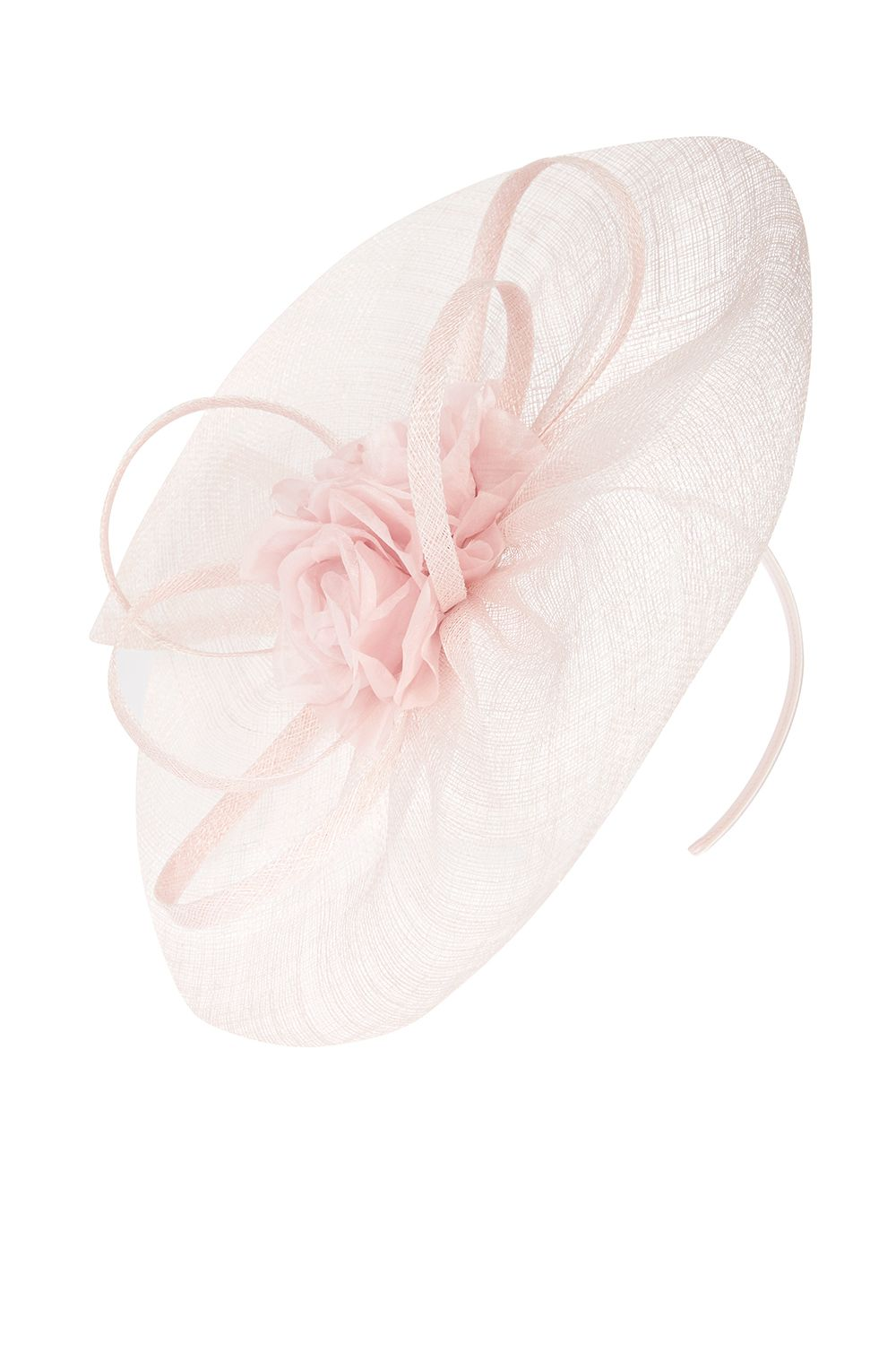 Coast Aria Fascinator, Pink