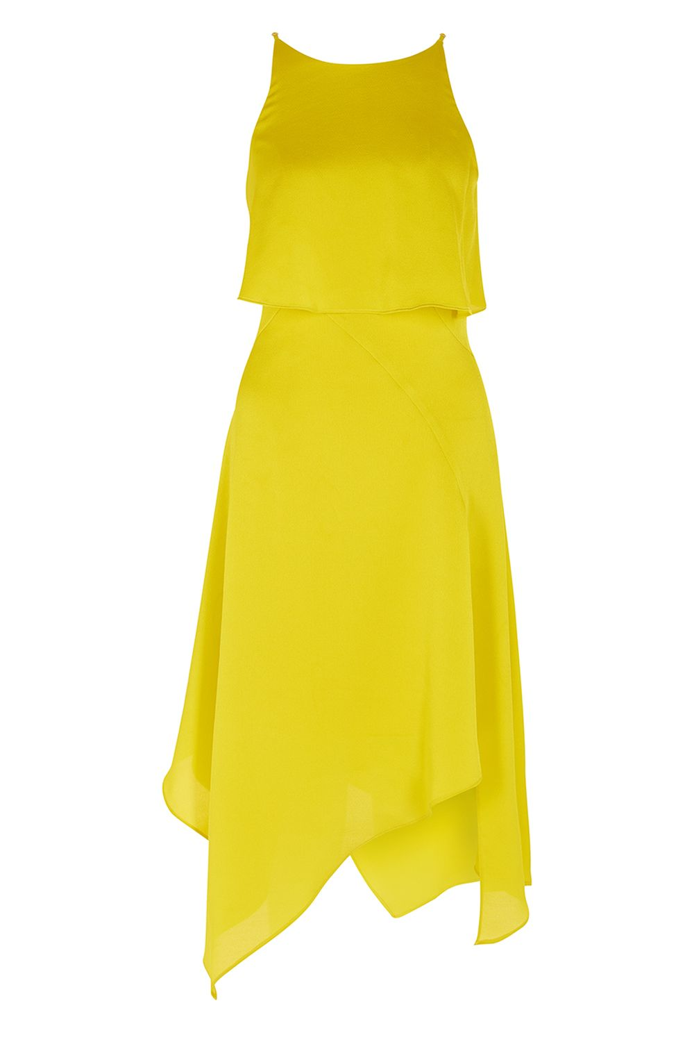 Coast Bay Bow Dress, Chartreuse