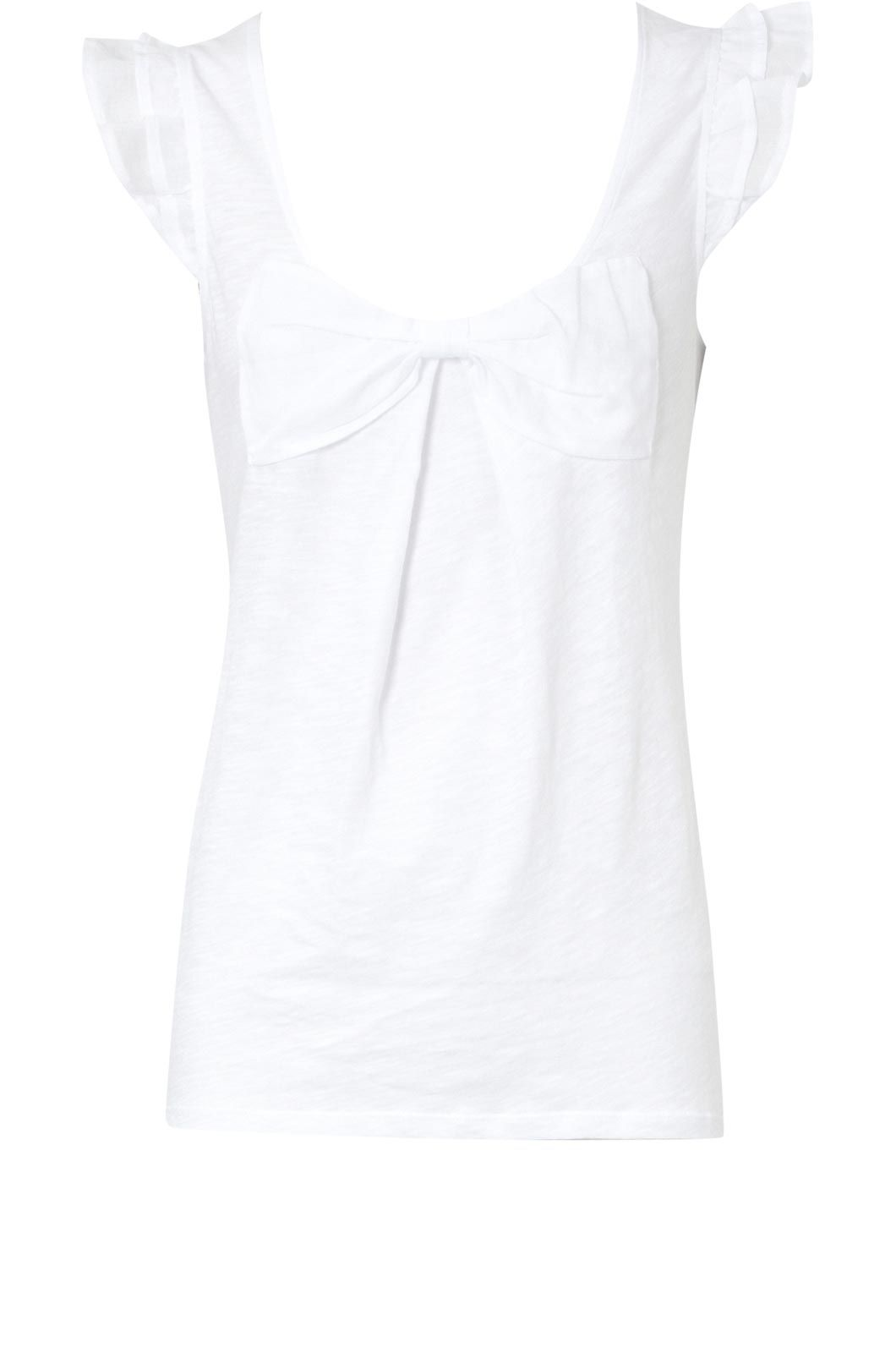 Oasis Bow applique t-shirt White product image