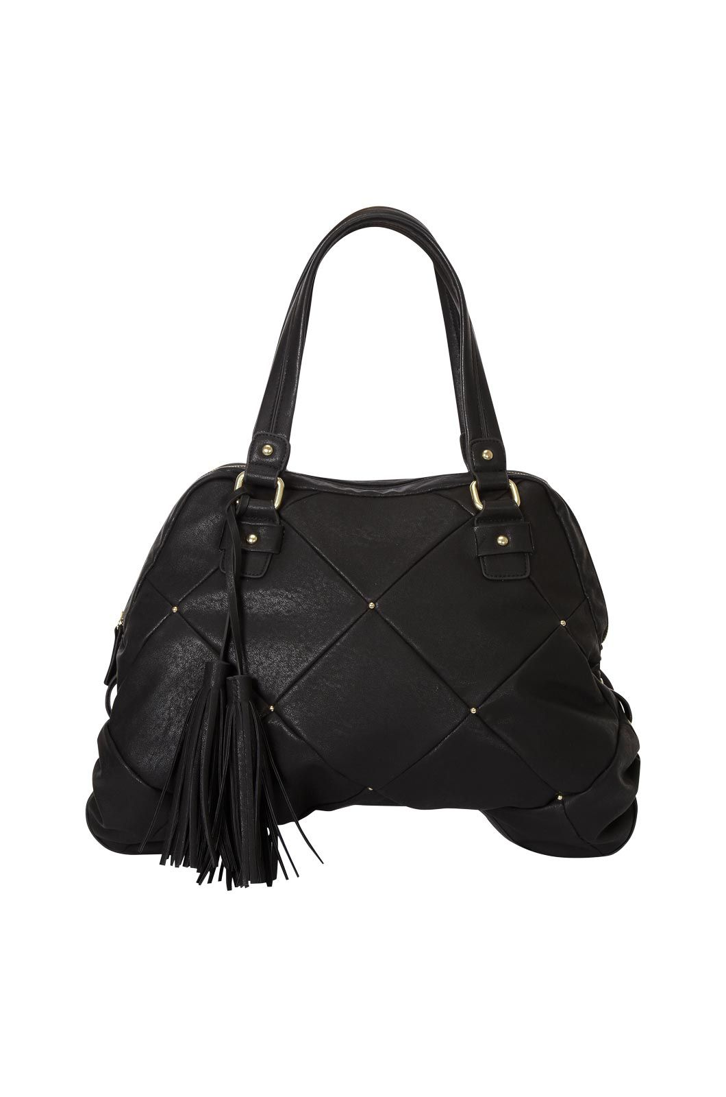 Oasis Carrie quilted tote Black product image