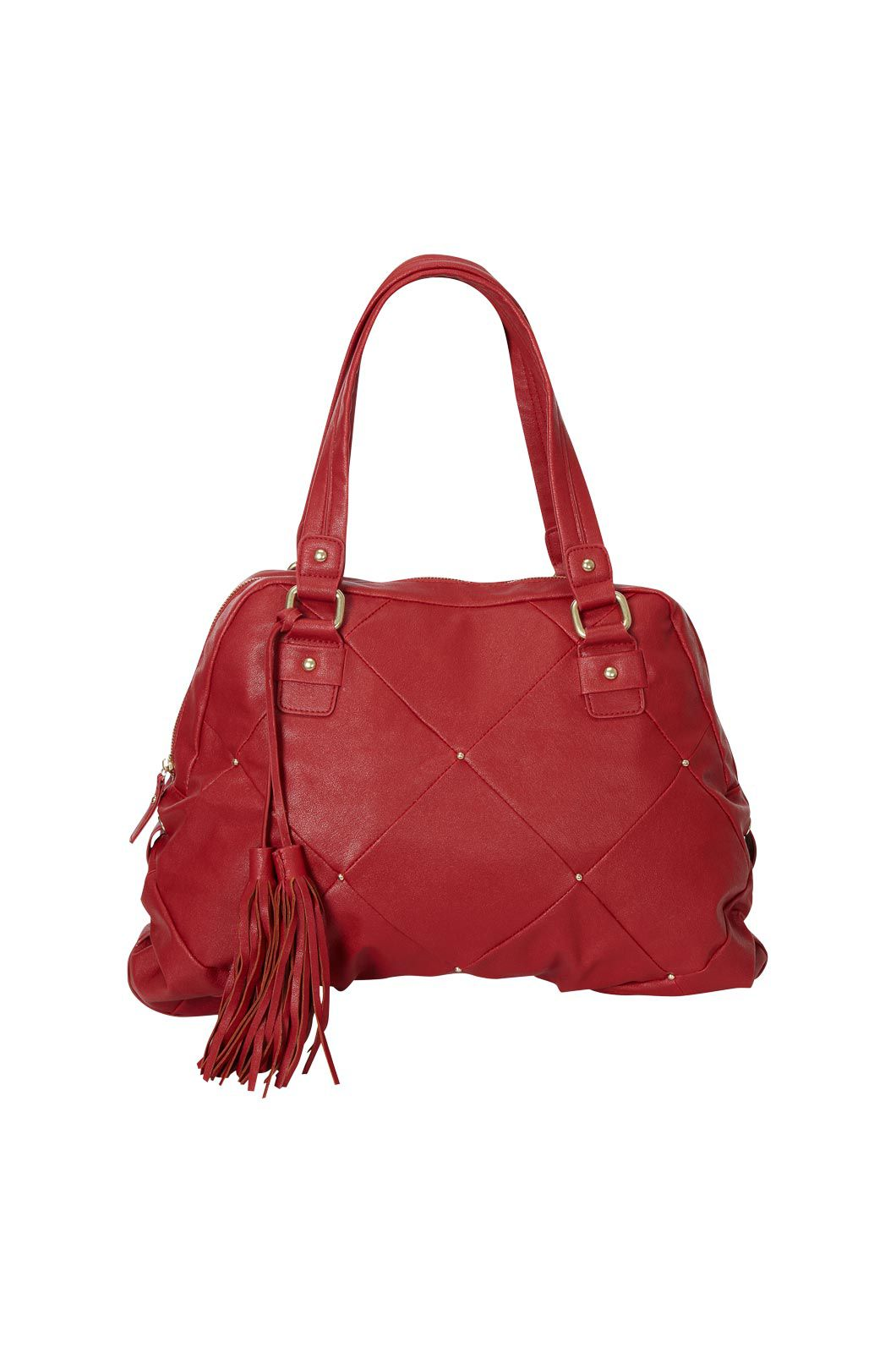Oasis Carrie quilted tote Red product image