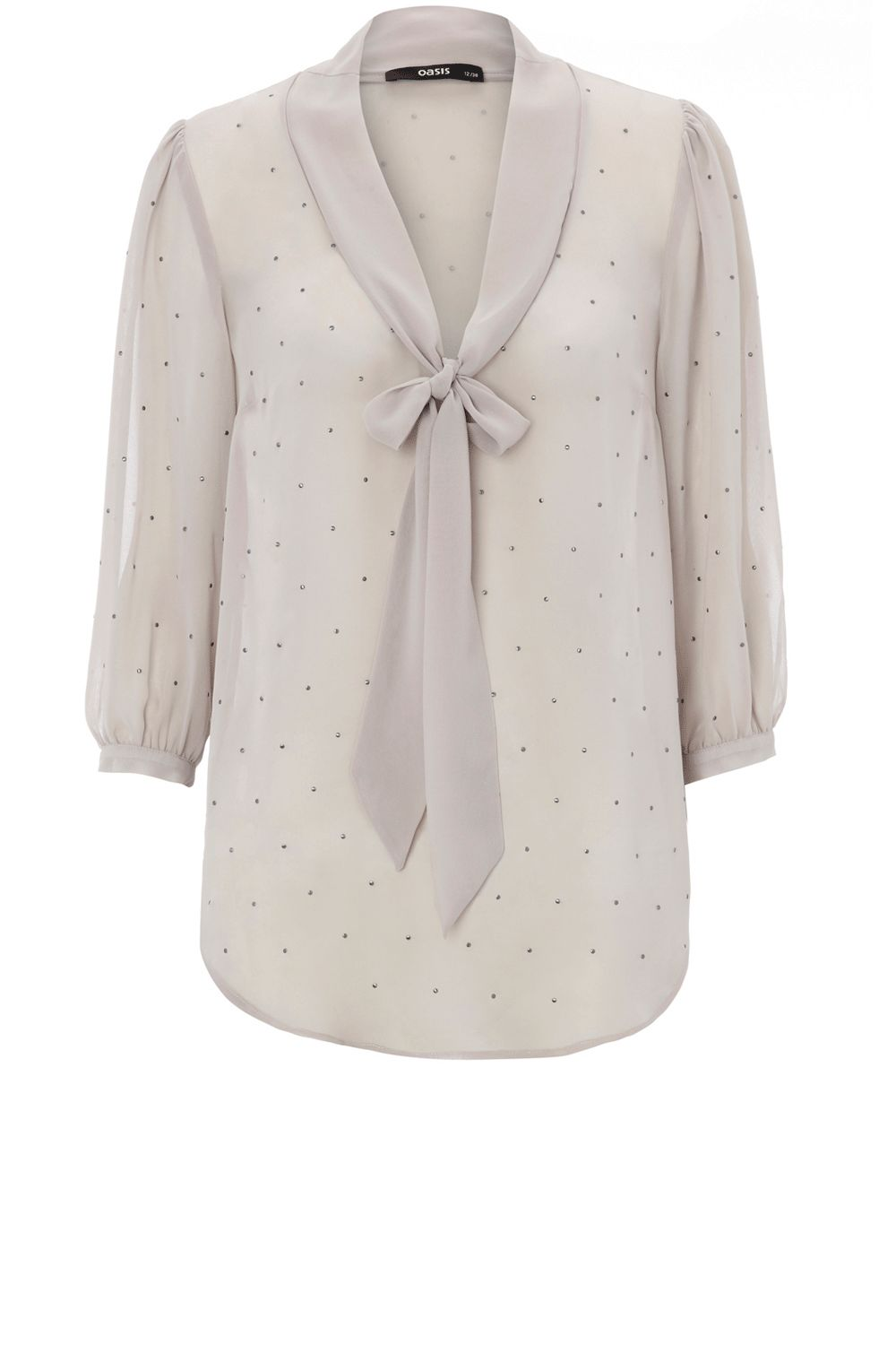 Oasis Stud sexy blouse - Natural product image