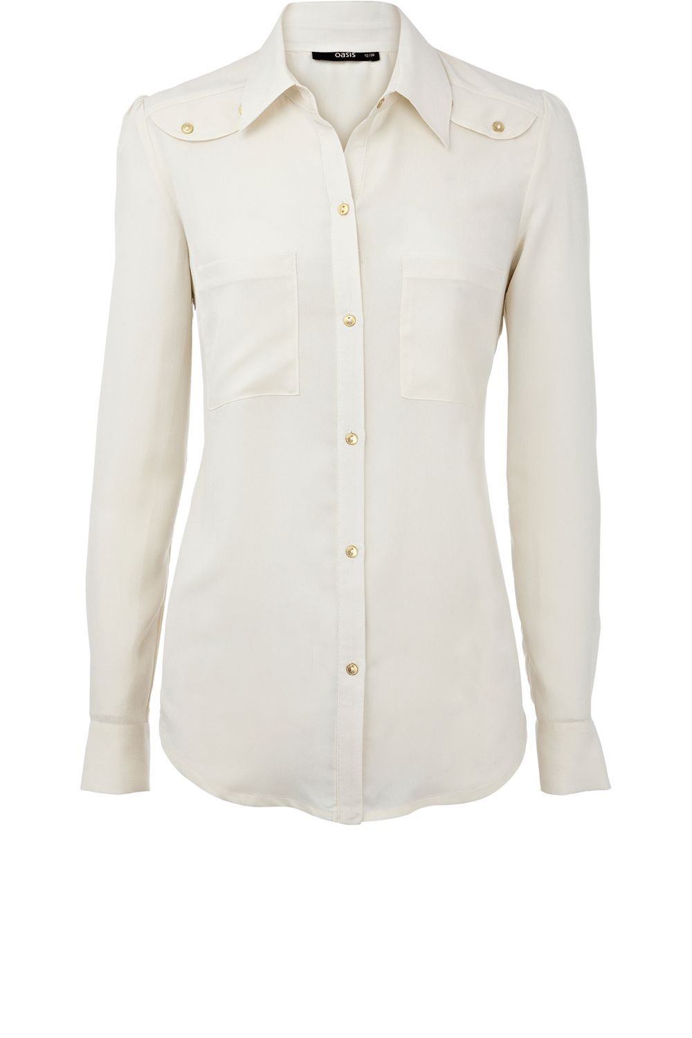 Oasis Safari chic blouse - Natural product image