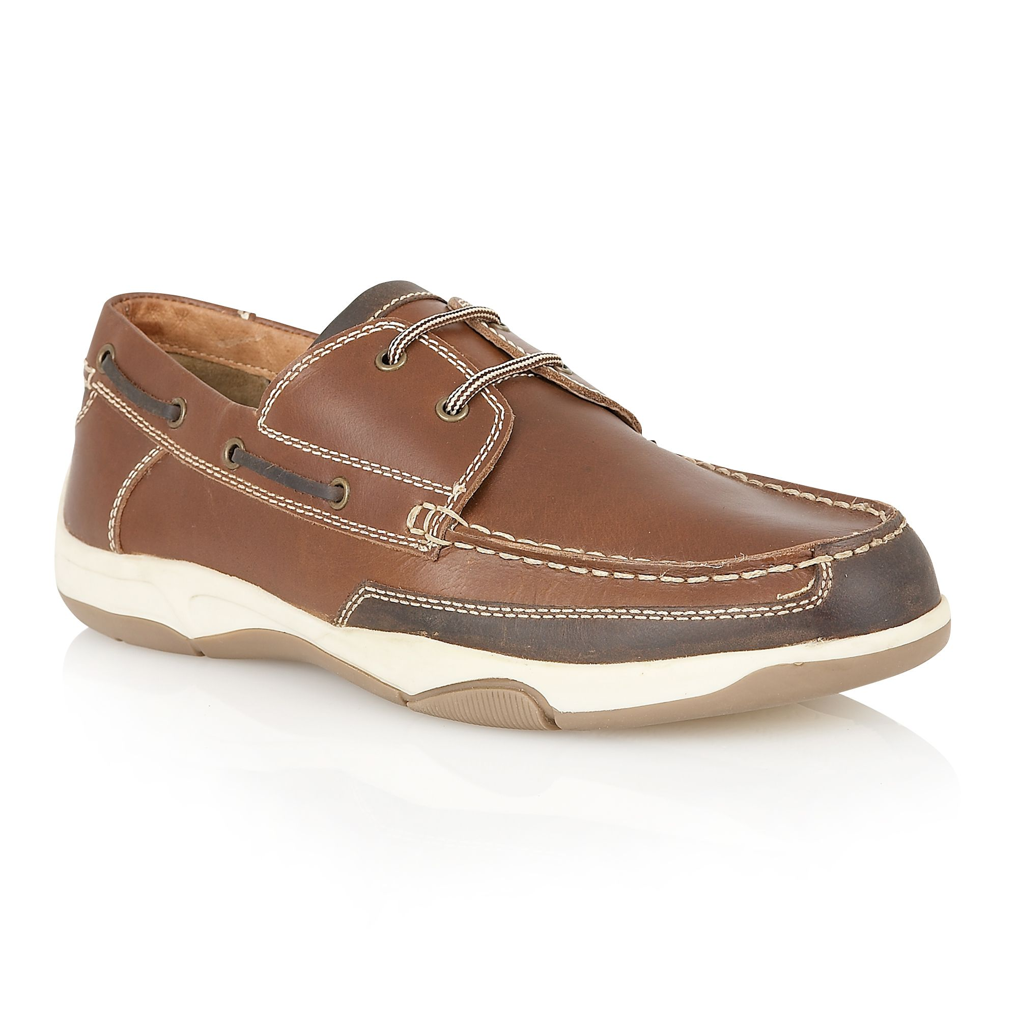 Miles mens deck shoes