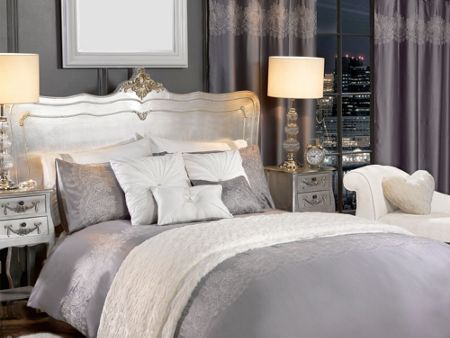 By Caprice Sophie embroidered lace duvet cover