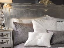 By Caprice Sophie embroidered lace pillowcases pair