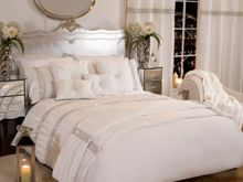 By Caprice Riviera diamante organza duvet cover