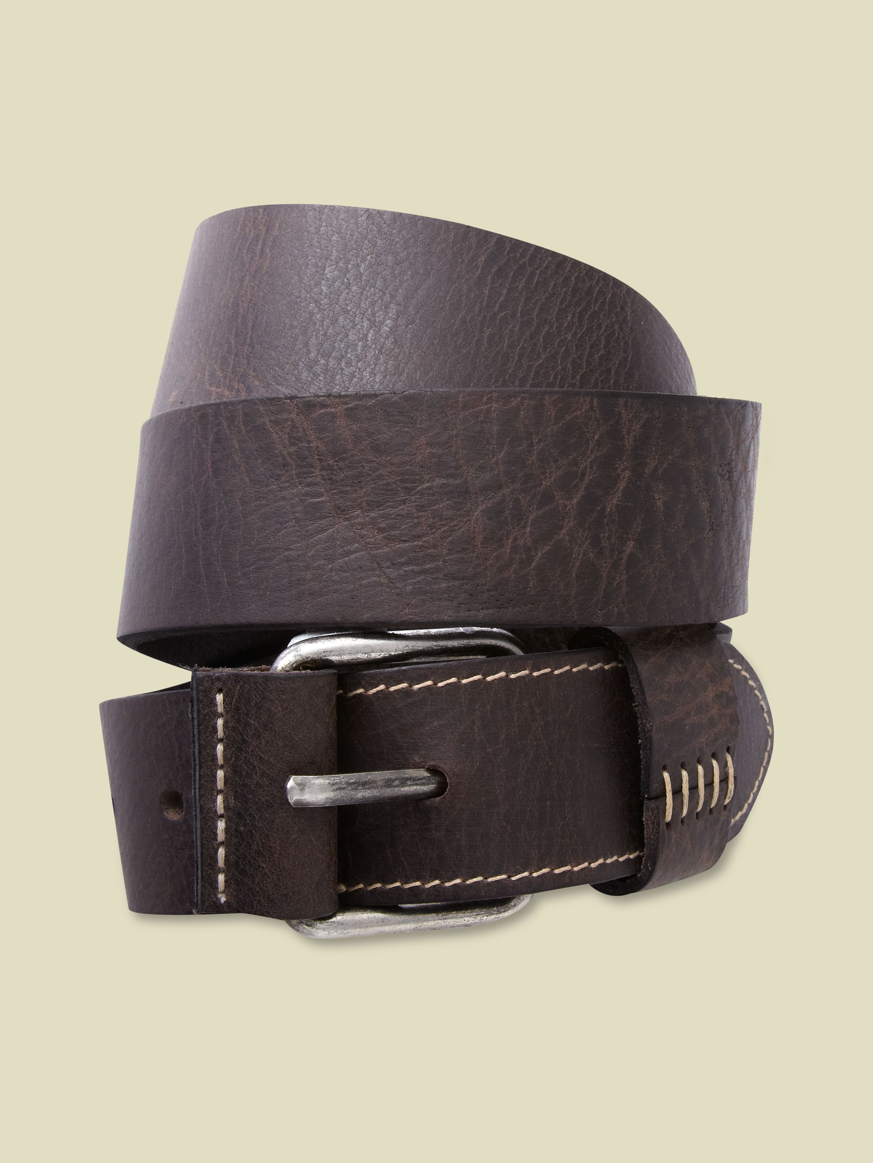 Rope stitch belt