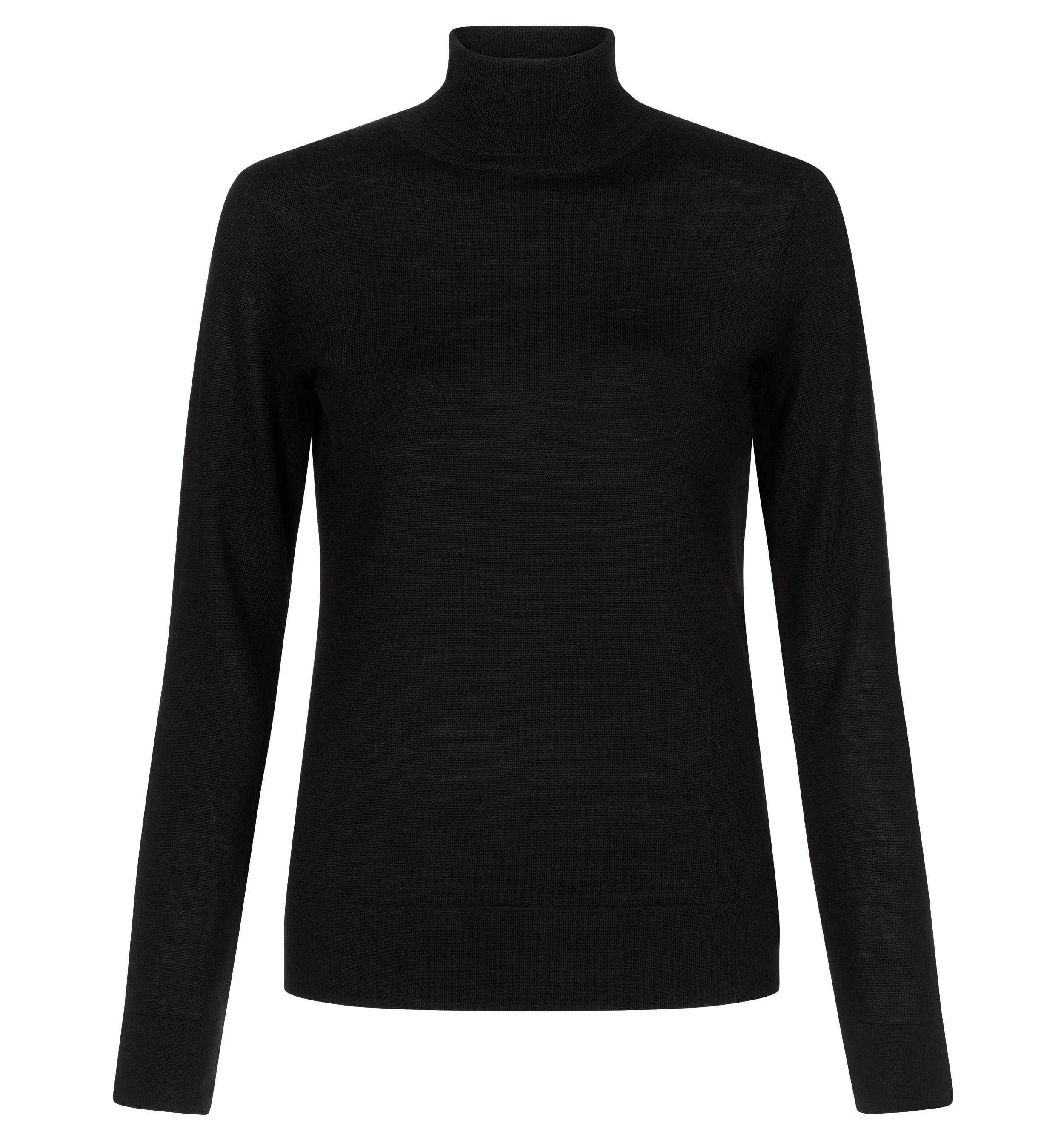 Hobbs Hobbs Lara Roll Neck, Black