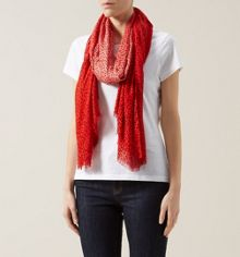 Ombre Spot Scarf