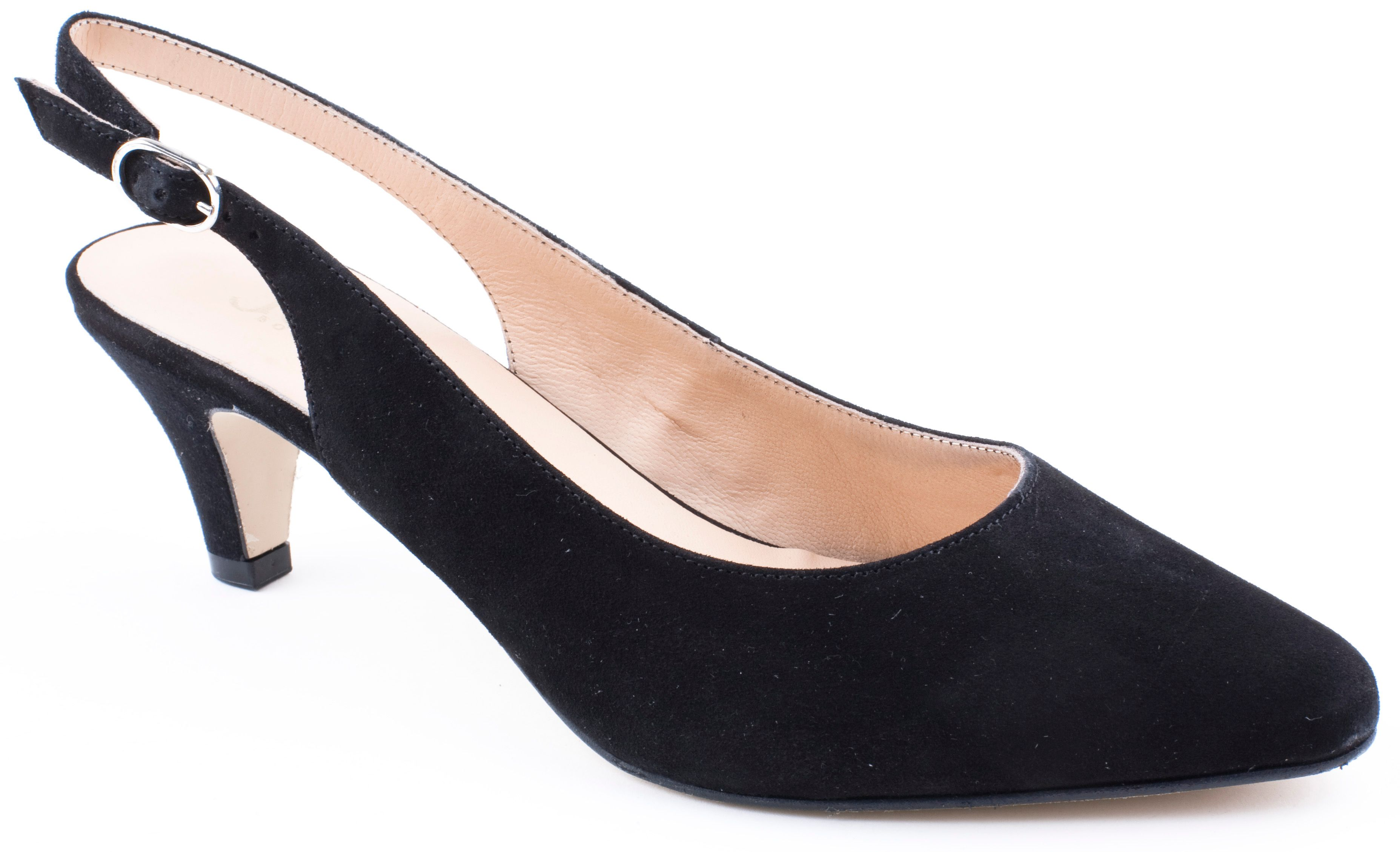 Bamba slingback heeled shoes