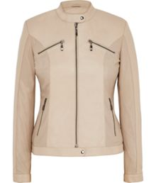 Signature Stone Leather Jacket