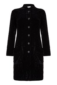 Ghost Polly Coat Black
