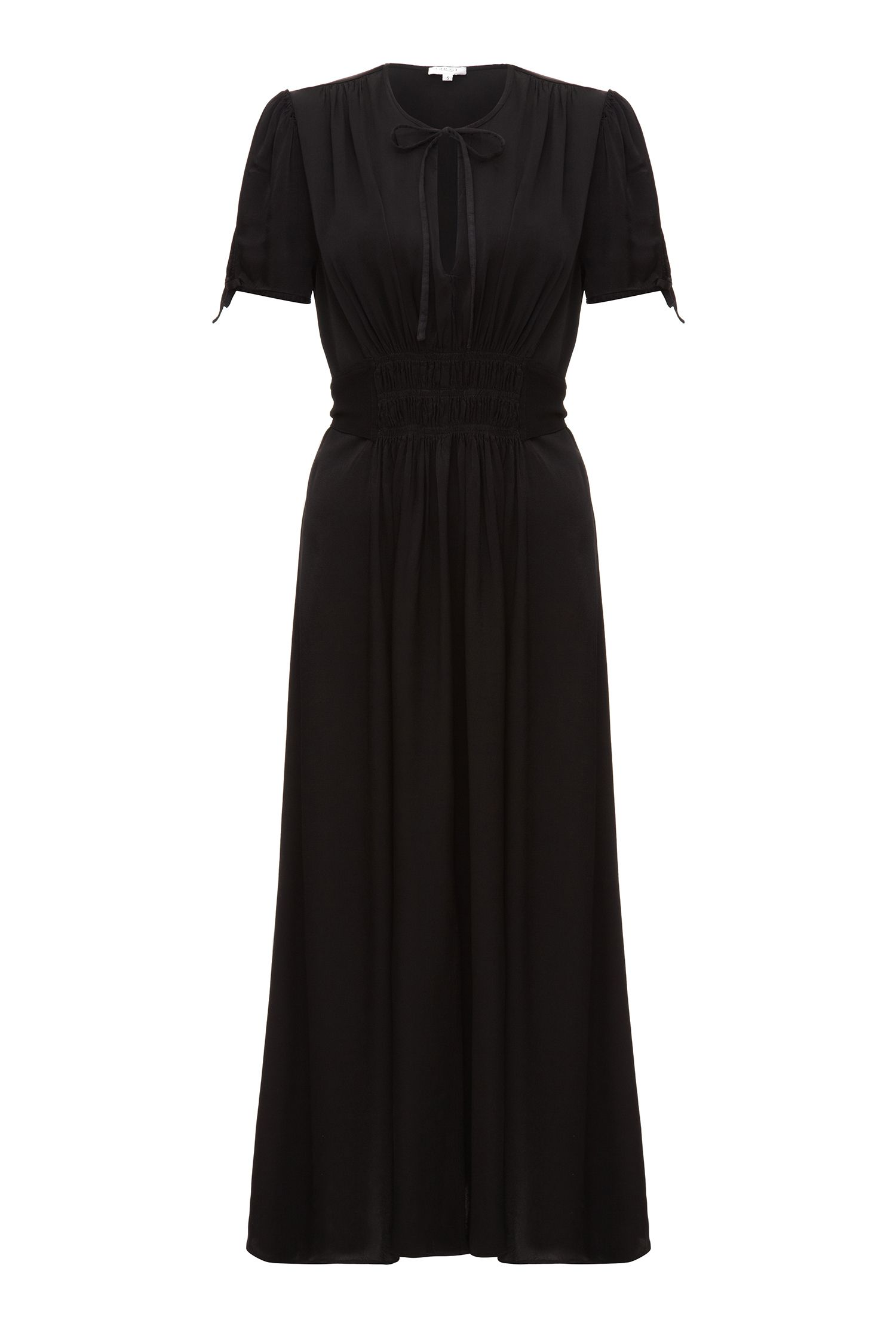 Ghost Ella Dress Black $145.00 AT vintagedancer.com