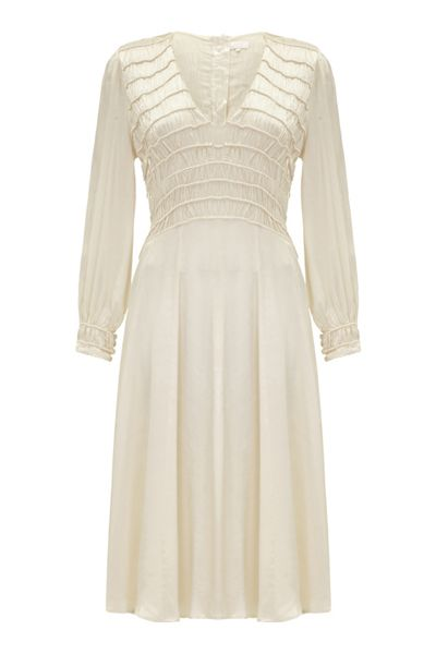 Ghost April Dress Ivory