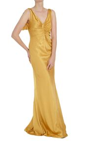 Ghost Olivia Dress Brushed Gold