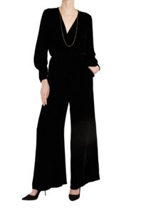 Ghost Lindy Jumpsuit Black