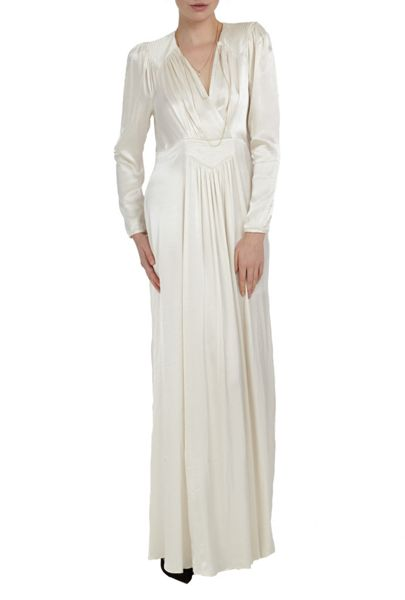 Ghost Daria Dress Ivory