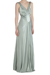 Ghost Tessa Dress Dusty Green