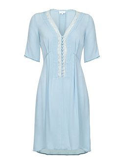 Anya Dress Powder Blue
