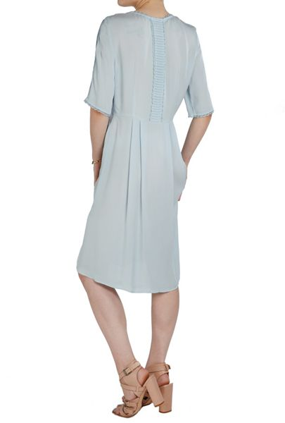 Ghost Anya Dress Powder Blue