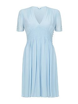 Anabel Dress Powder Blue