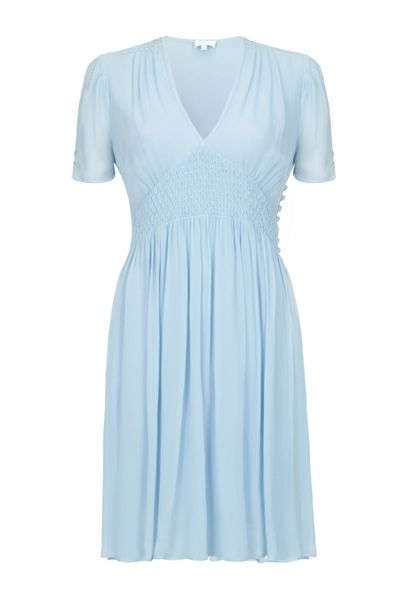 Ghost Anabel Dress Powder Blue