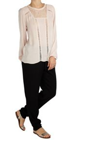 Ghost Bonnie Blouse Nude