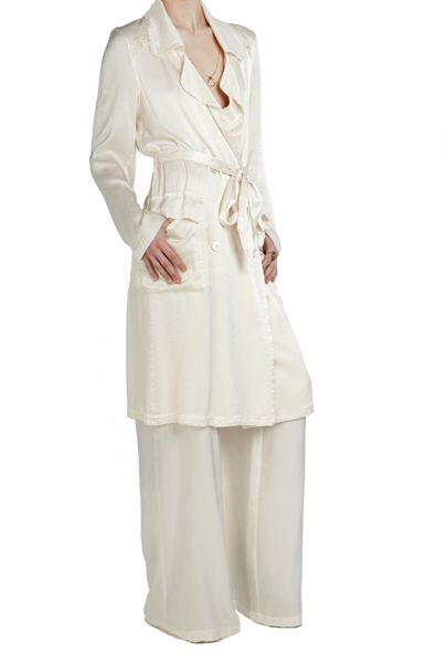 Ghost Judy Trench Coat