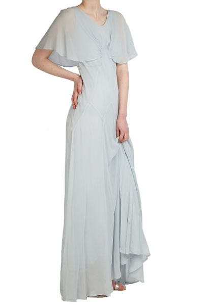 Ghost Valentina Dress Cool Grey