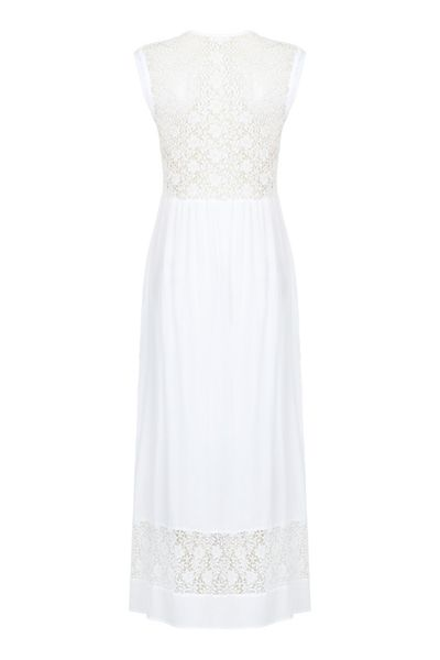 Ghost Andrea Dress White