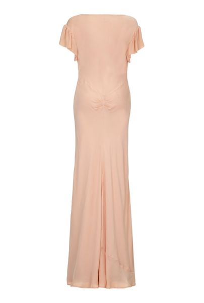 Ghost Fleur Dress Pink Sand