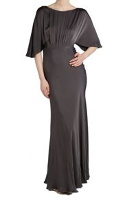 Ghost Gaby Dress Charcoal